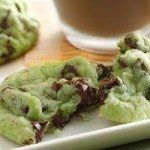 Mint Chocolate Chip Cookies – Holidays