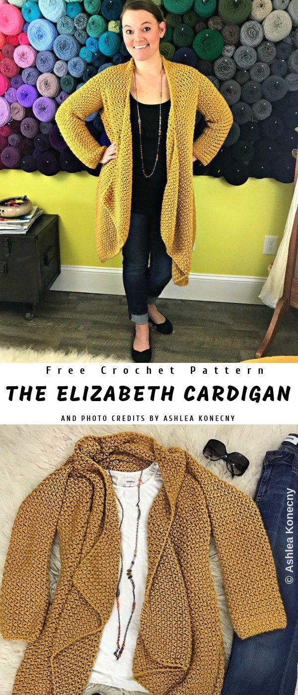 Elizabeth Crochet Cardigan