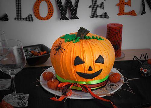 Заказать торт на Хэллоуин
