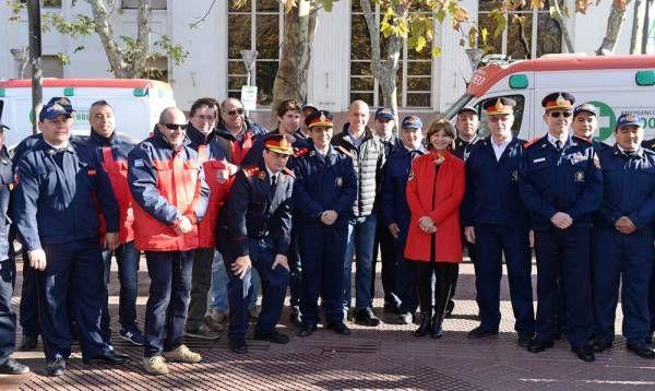 San Fernando conmemoró el Día del Bombero Voluntario