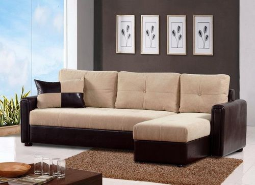 l shaped couch brown L Shape Sofa Set