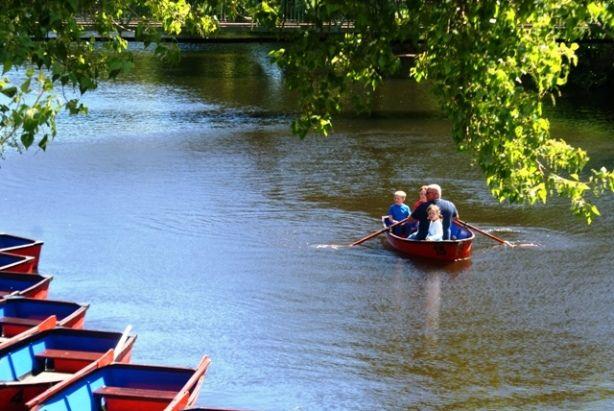 Rowing along Wansbeck River, Morpeth   #northumberland #travel