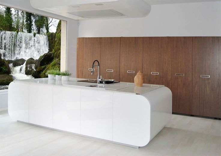 Dise o de cocina realizado por estudio de cocinas iroko de for Muebles de cocina pontevedra