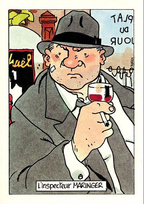 carte L'inspecteur Maringer (Jeux pour Mourir), Casterman 1992