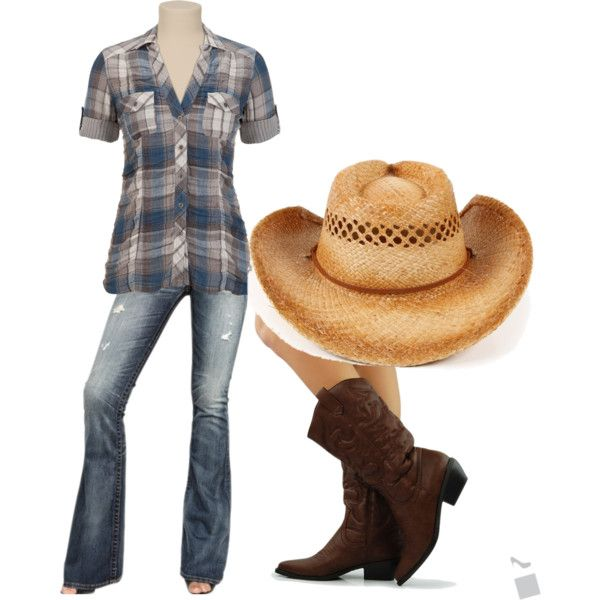 """""""Country Girl Look 2"""" by me on Polyvore"""