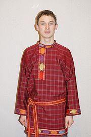 Мужской национальный костюм удмуртов