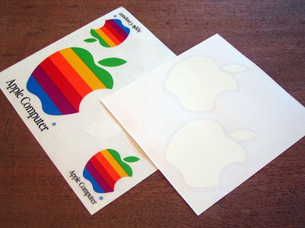 Transition into your new logo with stickers