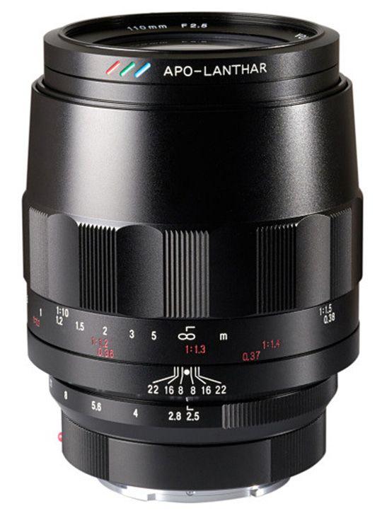 New: Voigtlander Macro APO Lanthar 110mm f/2.5, Color-Skopar 21mm f/3.5 Asph (Sony E-mount) and Nokton 50mm f/1.2 Asph VM (Leica M-mount) | Photo Rumors