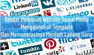 Cara Membuat Facebook dan Twitter Menggunakan Template