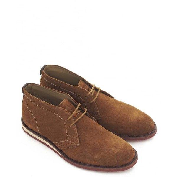 Hugo Boss Orange Volentin Chukka Boots (19.405 RUB) ❤ liked on Polyvore…