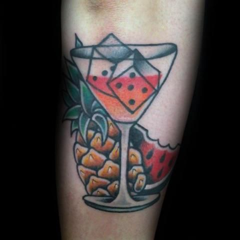 18 Super Coole Wassermelone Tattoo Ideen  #coole #Ideen #Super #Tattoo #Wassermelone