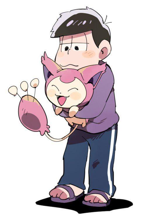 おそ松さん Osomatsu-san エネコ抱かせたい