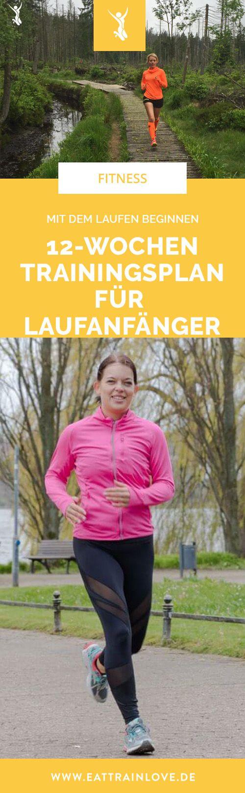 Mit dem Laufen beginnen: Der 12-Wochen-Trainingsplan für Laufanfänger – Laufen