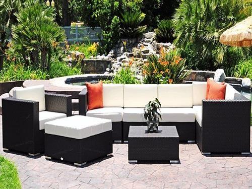 DIY Pallet Black Patio Furniture. Cheap Patio Furniture SetsModern ...