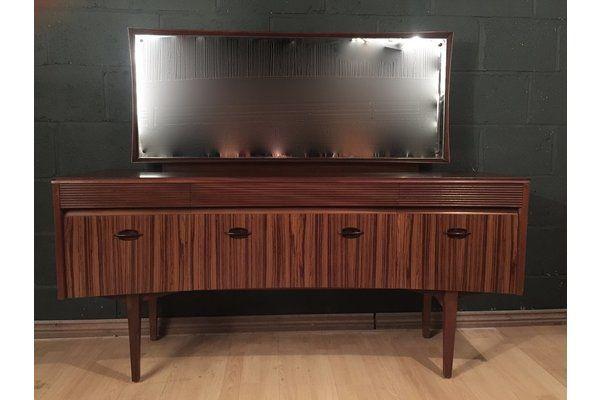 #Retro #Vintage #MidCentury Grange French Mahogany Dressing Table Sideboard | Vinterior London