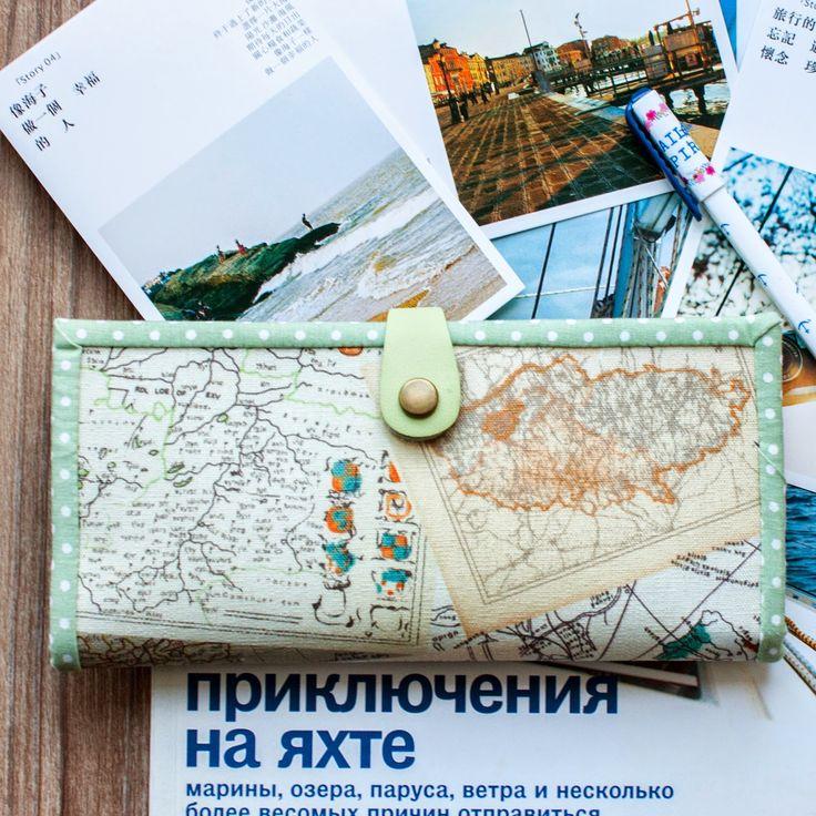 Как сшить удобный и симпатичный холдер для карточек и денег - Ярмарка Мастеров - ручная работа, handmade