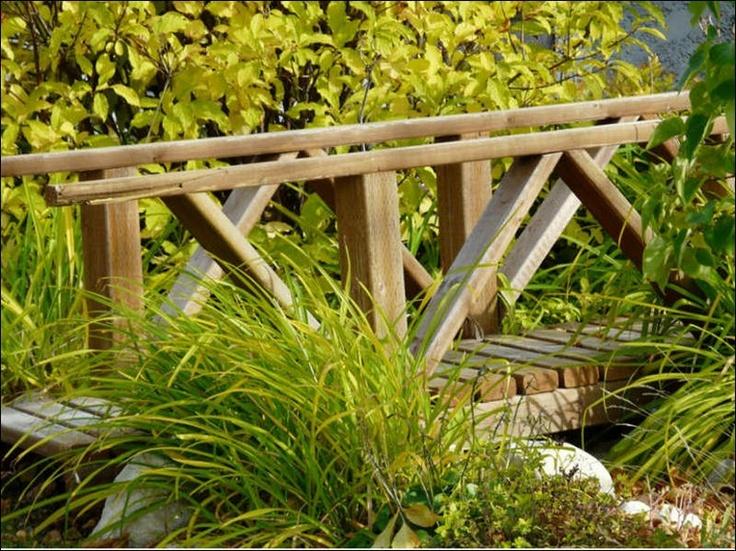 Rustic Garden Bridge Outdoor Ideas Pinterest Gardens