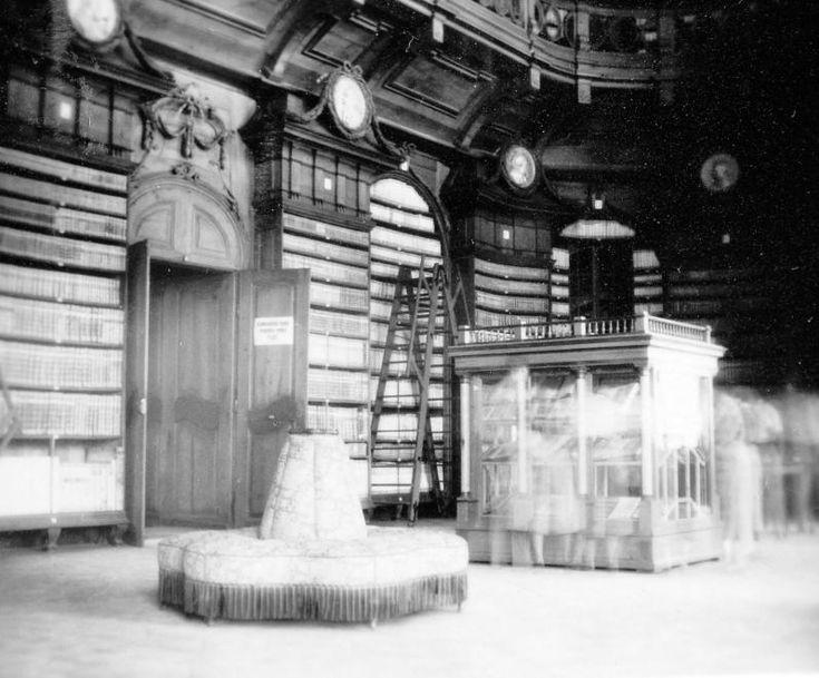 Líceum könyvtára.
