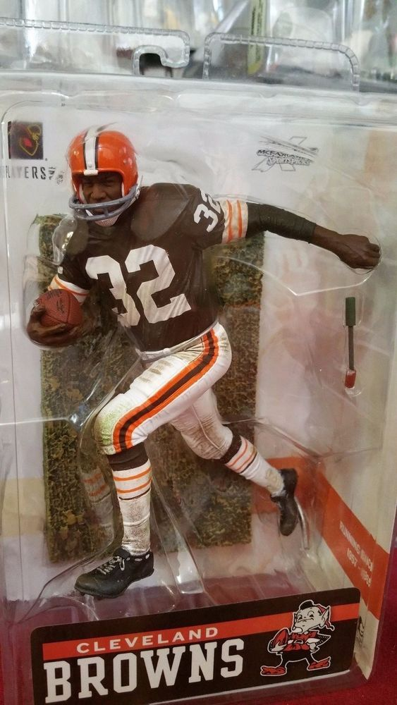 2006 McFarlane NFL Football Legends Series 2 Jim Brown #10 Action Figure #McFarlaneToys