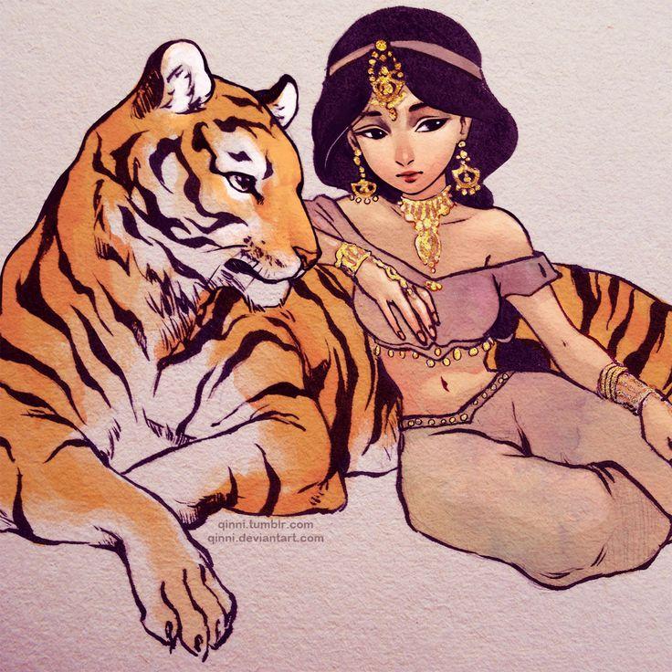 Jasmine by Qinni.deviantart.com on @DeviantArt