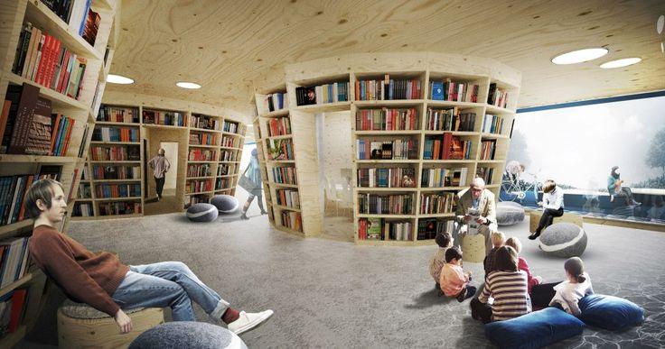 Culture Island: Public Library Proposal / UGO Architecture