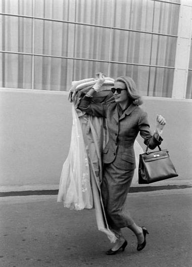 Grace Kelly and her Kelly bag