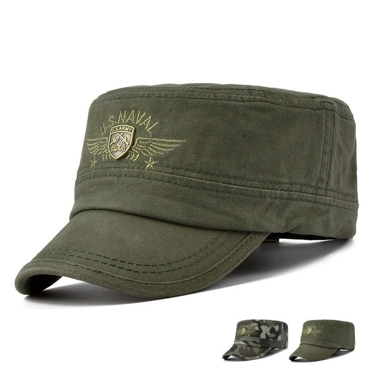 Casual Camouflage Army Style Flat Sun Hat   Supernatural Style
