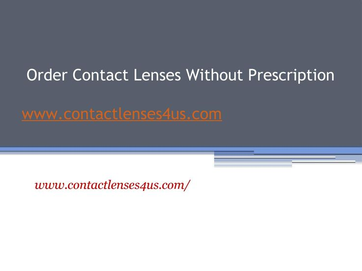 Simply select the brand and number to order contact lenses without prescription for your eyes from http://www.contactlenses4us.com easily. https://www.scribd.com/presentation/319858447/Order-Contact-Lenses-Without-Prescription-Www-contactlenses4us-com