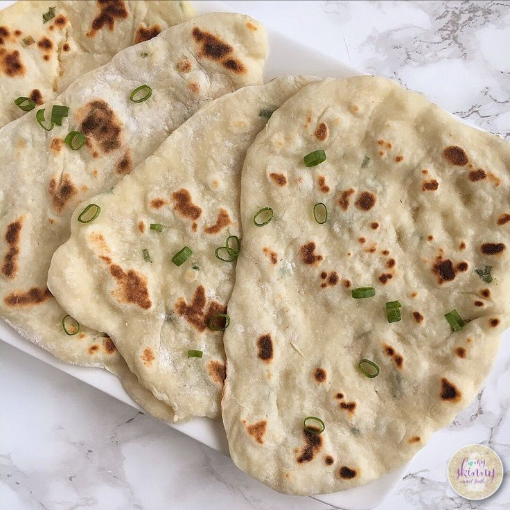 #2ingredientdough Naan Bread | My Skinny Sweet Tooth