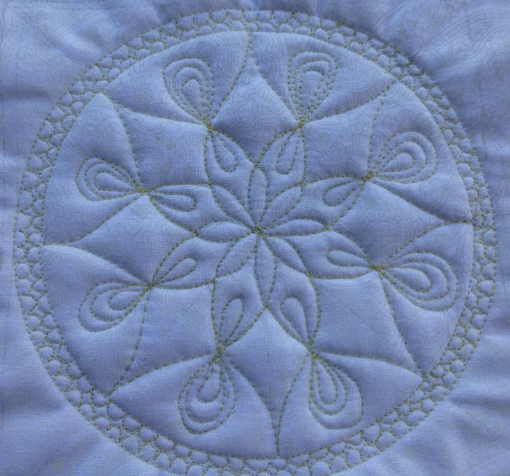 round bubble quilt how to make