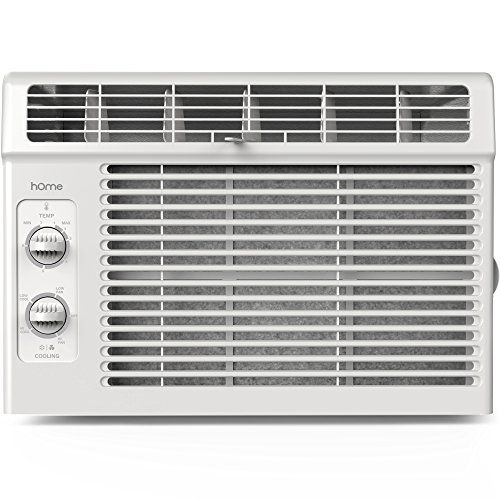 hOme 5000 BTU Window Mounted Air Conditioner - Compact 7-speed Window AC Unit Small Quiet Mechanical Controls 2 Cool and Fan Settings with Installation Kit Leaf Guards Washable Filter - Indoor Room AC only for $122.99 - http://howto.hifow.com/home-5000-btu-window-mounted-air-conditioner-compact-7-speed-window-ac-unit-small-quiet-mechanical-controls-2-cool-and-fan-settings-with-installation-kit-leaf-guards-washable-filter-indoor-room-ac/