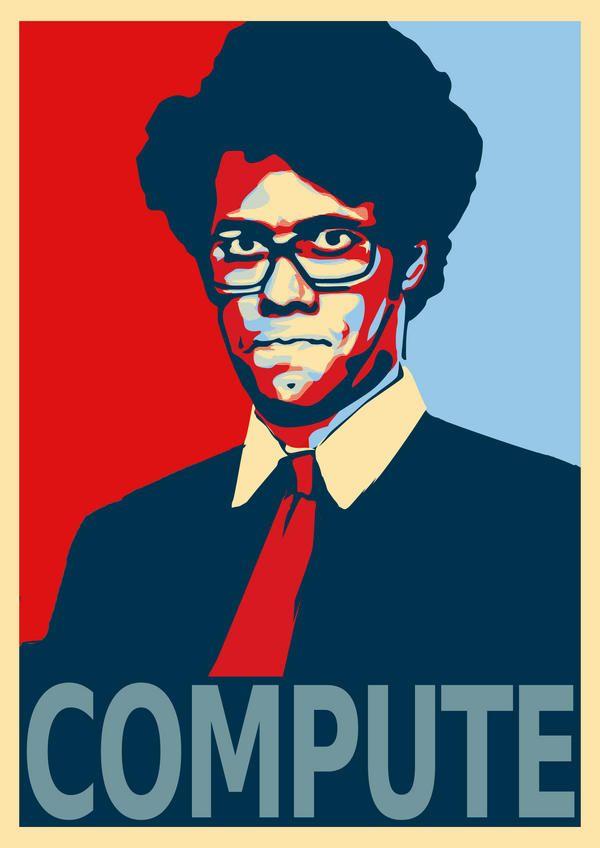 COMPUTE – Feat Moss from The IT Crowd | Ufunk.net