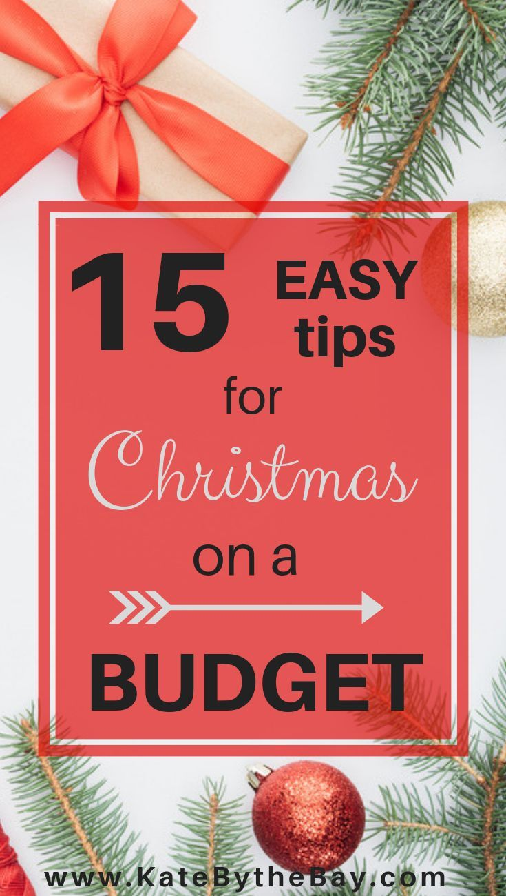 follow these easy 15 tips for a debt free christmas to keep christmas on a budget