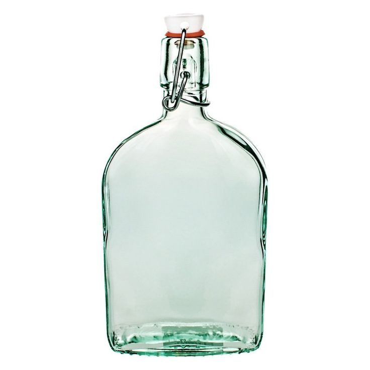 Global Amici Recycled Glass Flask - Small - Set of 3 - Z7AI4461S3R