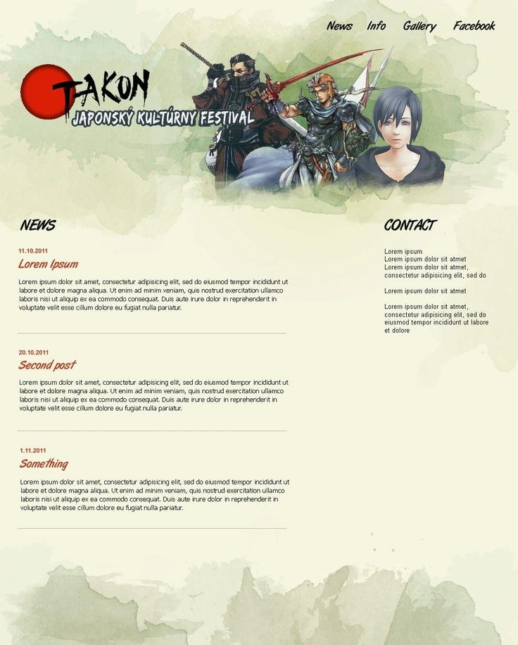 unused design for Otakon (convention about japanese culture)