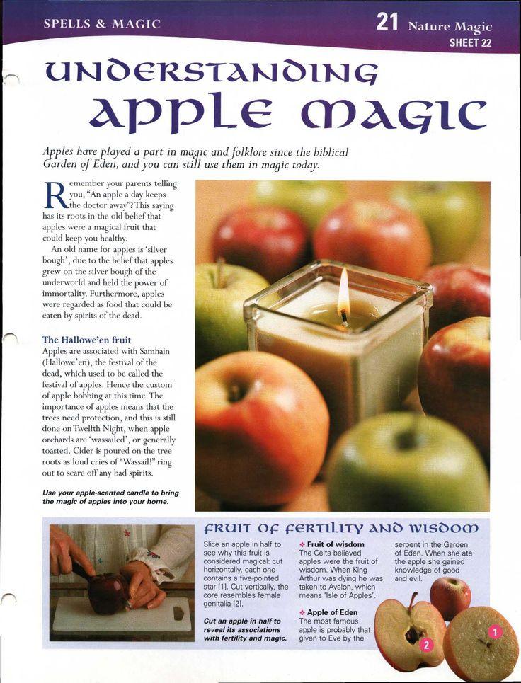 Autumn Equinox: MBSC: Understanding Apple Magick, at the #Autumn #Equinox.