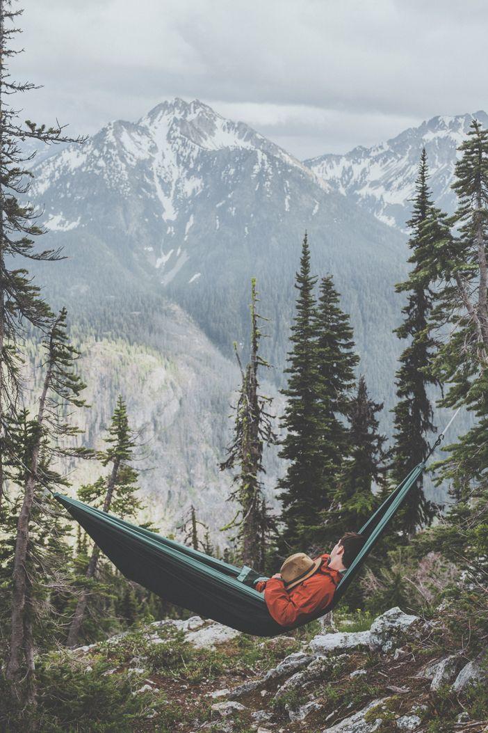 North Cascades National Park V ➾ Luke Gram | Naps in the wild.  I'm homesick for Washington.