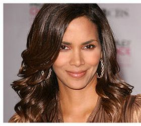 halle berry - different hair styles