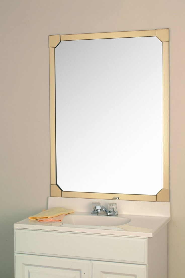 16 best images about MirrEdge ™ Mirror Framing System on Pinterest