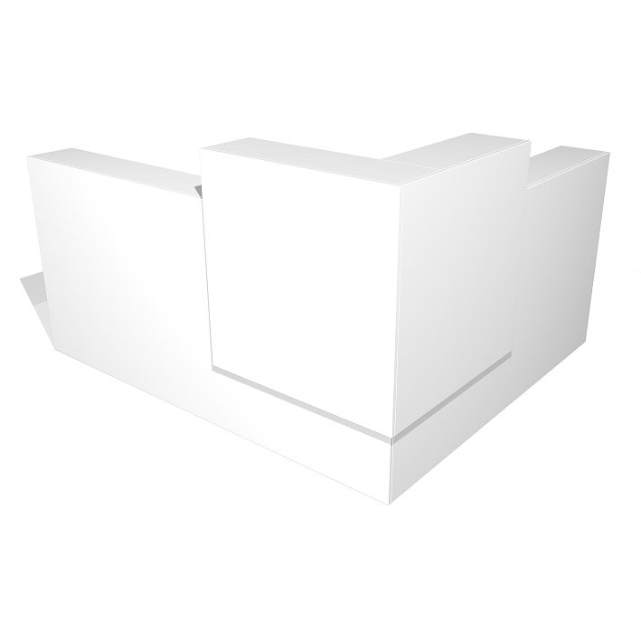Block Office Reception Counter Desk. The Block office reception counter desk is a clean modern look that will enhance any reception area. Block is Australian made and defines quality office furniture.