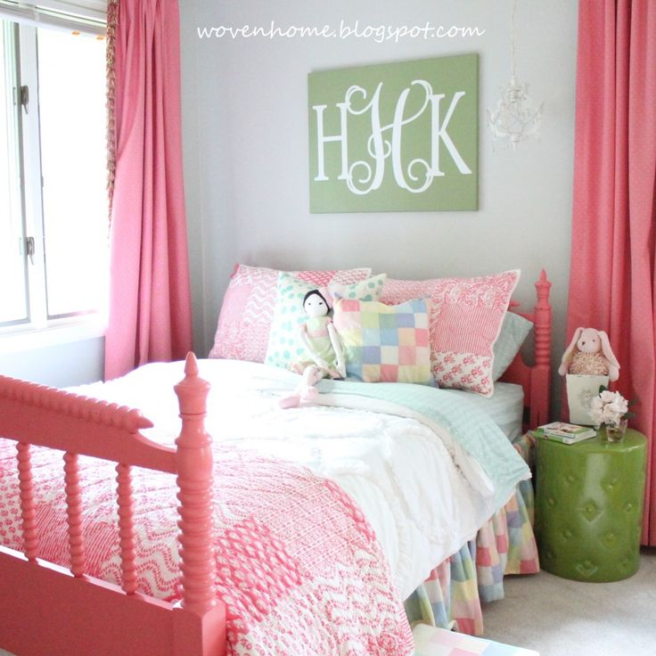 82 Best Images About Pink Kids Room On Pinterest