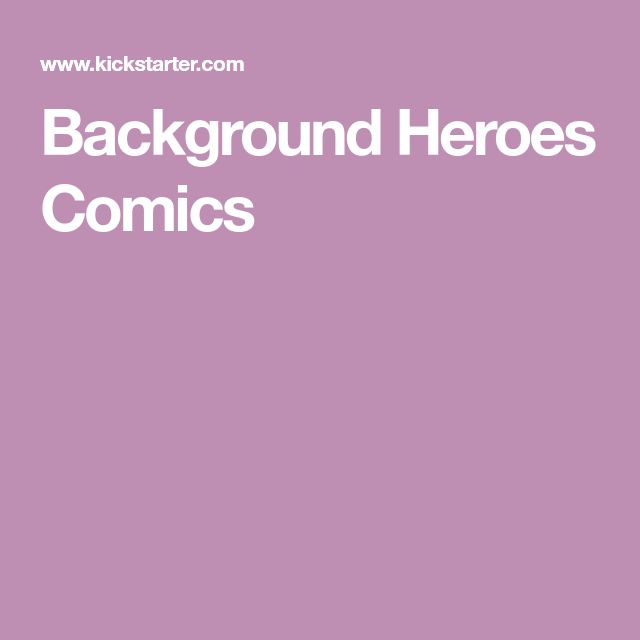 Background Heroes Comics