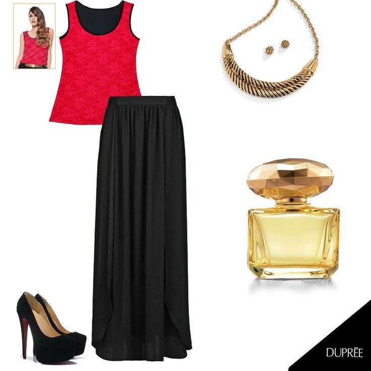 ¡El secreto está en el equilibrio! combina el encaje con colores neutros. #Moda #Dupree #Colombia #Mujer