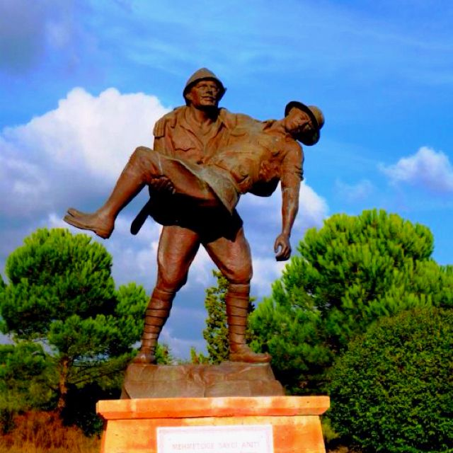 Gallipoli, Turkey.  A moving tribute.