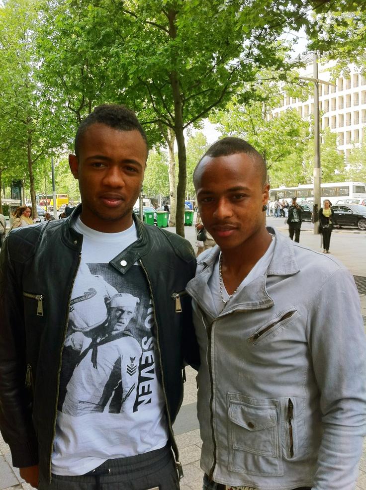 Les frères Ayew (Jordan et André)