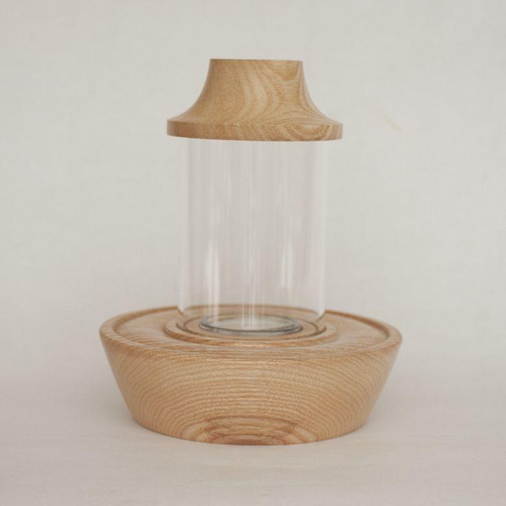 Mini  Storm Lantern in ash