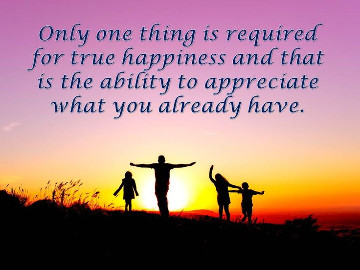 Only one thing is required for true happiness and that is the ability to appreciate what you already have. #teemingconnections
