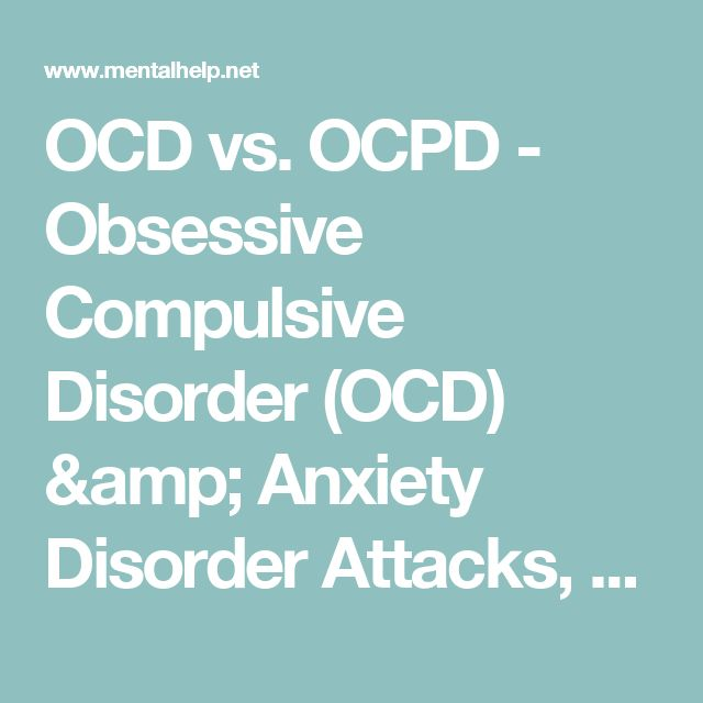 an overview of the anxiety disorder ocd Overview the center for the treatment and study of anxiety obsessive-compulsive disorder (ocd), social anxiety (sad), panic disorder (pd), agoraphobia.