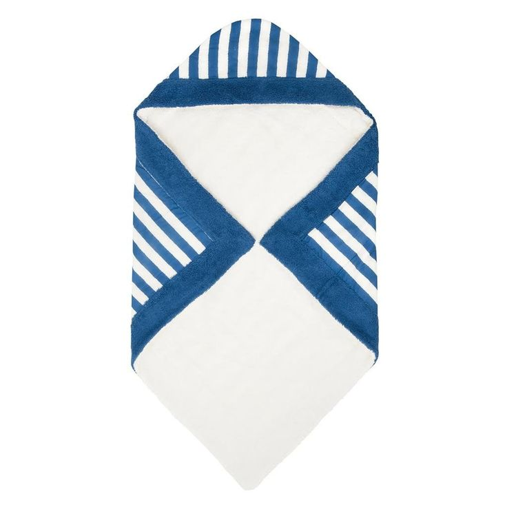 Chaise Longue Royal Blue   Baby Towel - Sun of a Beach