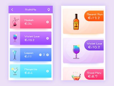 A app about wine ordered
